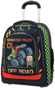 Polo Σακίδιο Trolley Let's Glow Crazy Monster Truck