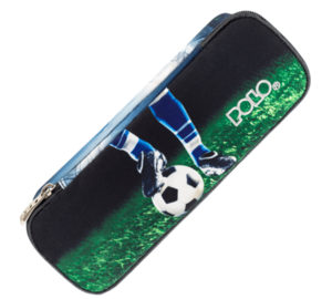 Polo Κασετίνα Οβάλ Troller Pencil Case Duo 70 Soccer