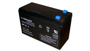 SUNLIGHT BATTERY 12V 7AH (6.3 FASTON)