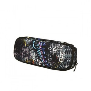 Polo Κασετίνα Οβάλ Pencil Case Duo Extenic Glow Graffiti